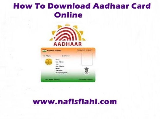 Download Aadhaar Card Onlin
