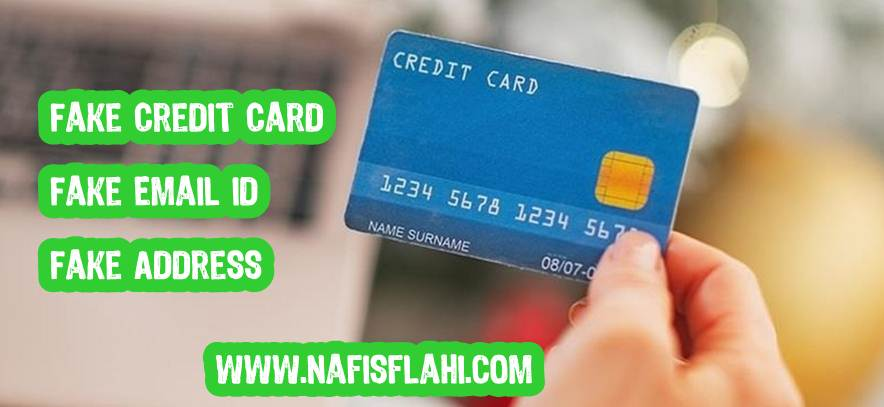 Fake Name Address Credit Card