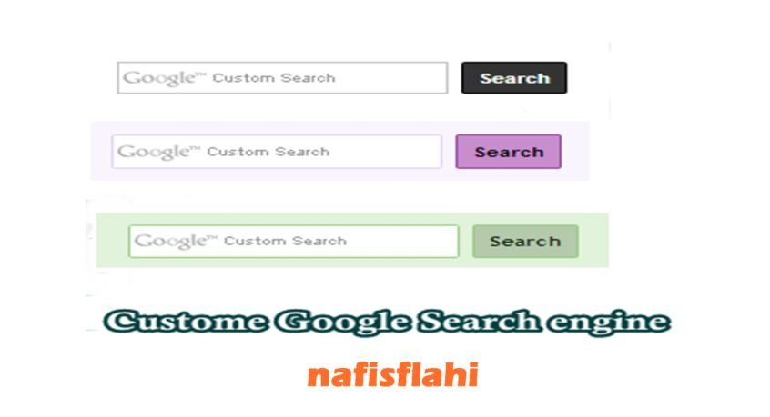 Add Google Custom Search Engine To Blogger