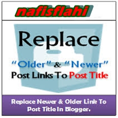 Replace Newer Older Link with Post Title