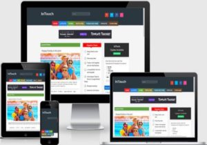 InTouch Responsive Blogger Templates