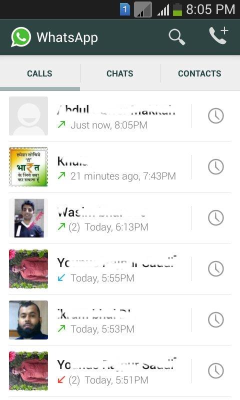 Whatsapp Free Calls