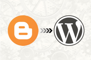 how to transfer blogger to wordpress