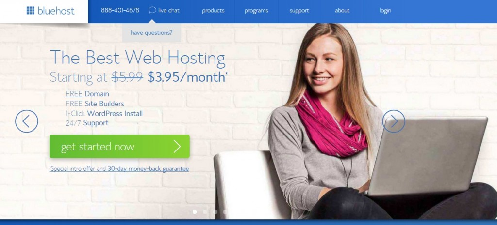 bluehost bwst web hosting