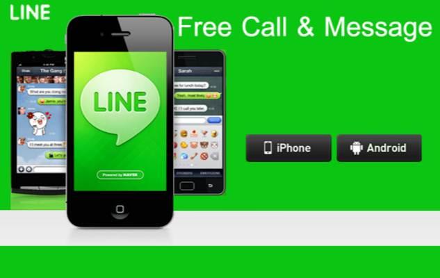 line free calling app