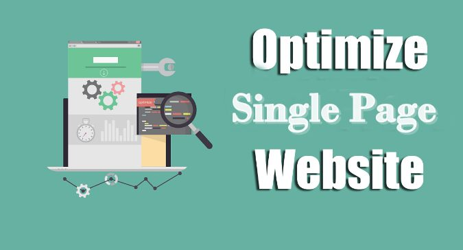 Optimize Single Page Websites