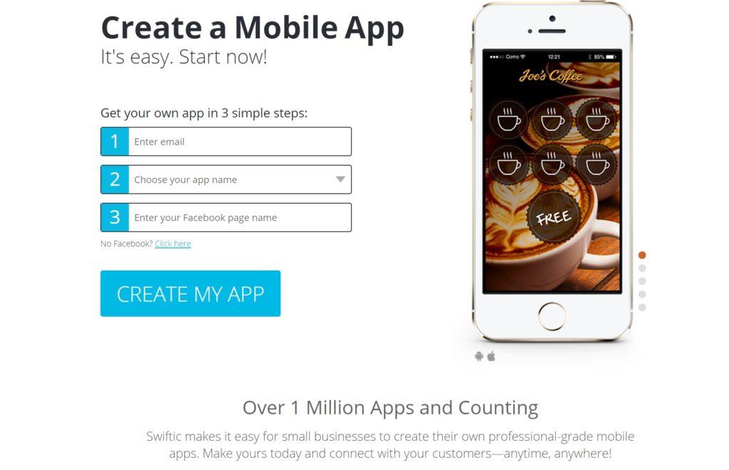 create a mobile app