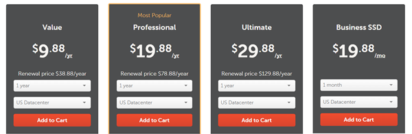 GET HOSTING FOR ONLY $0.88 MONTH HERE