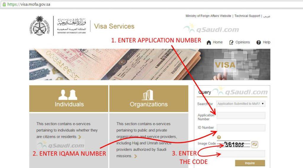 get Visit Visa Number