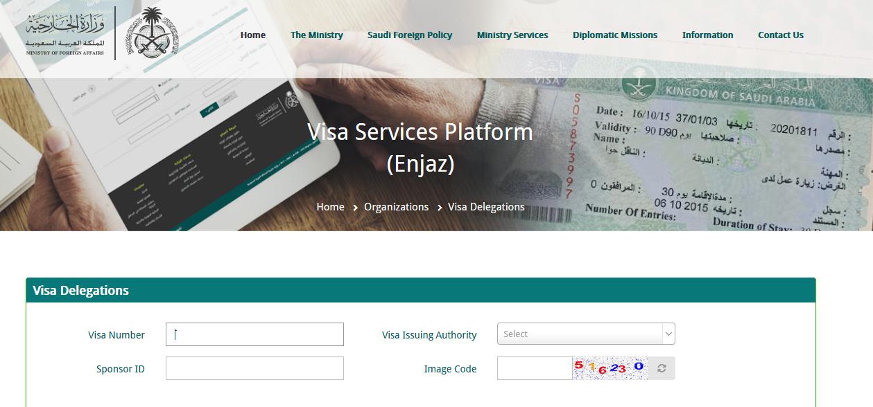 visa check