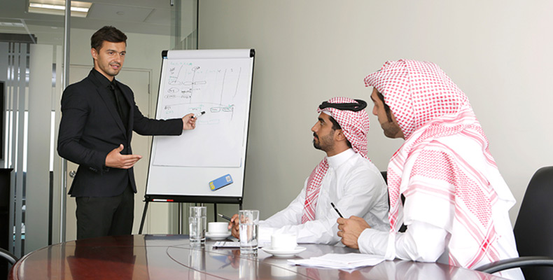 start a business in Saudi Arabia