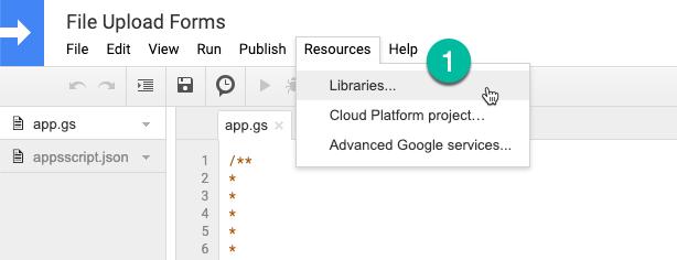 Google Script Libraries