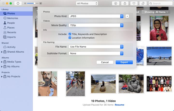 Include Location in Photos